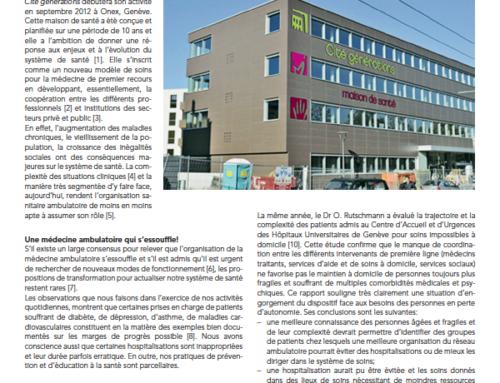 Cité générations – Une maison de santé pluridisciplinaire